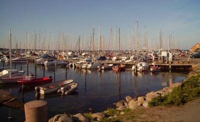 Hafen Ballen auf Samsø