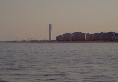 Malmö mit dem Turning Torso