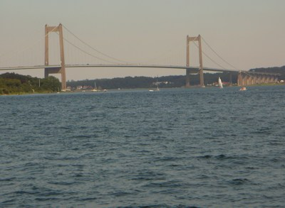 Middelfart - nördliche Brücke