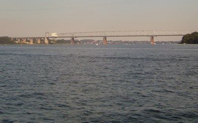 Middelfart - westliche Brücke