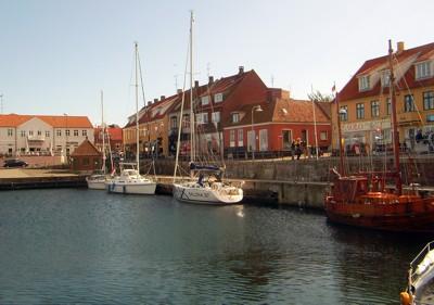 Allinge Hafen