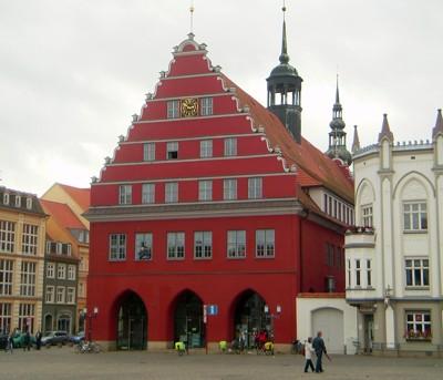 Rathaus - Greifswald