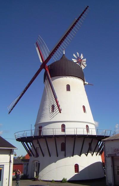 Windmühle Gudhjem