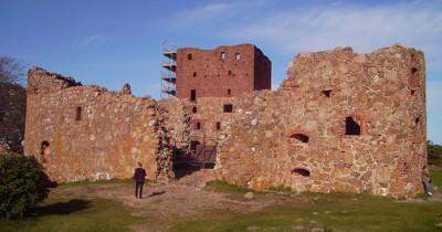 inneres der Burg