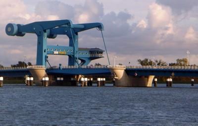 Klappbrücke Wolgast
