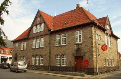 Postgebäude in Rønne