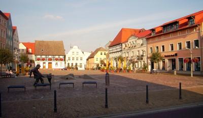 Ueckermünde - Marktplatz