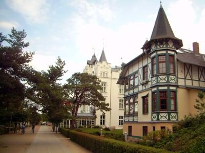 Villen und Hotels - Strandpromenade Zinnowitz