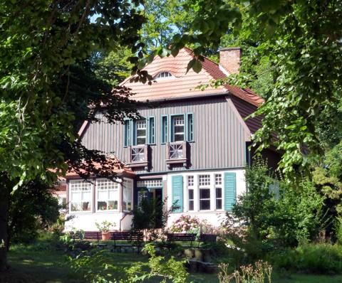 Gerhard Hauptmann Haus in Kloster auf Hiddensee