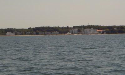 Heiligendamm von der Ostsee