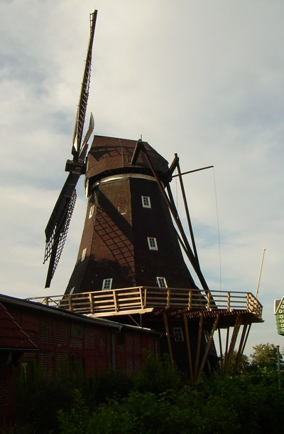 Segelwindmühle, Mühle mit Museum