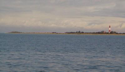 Fehmarn west, Leuchtturm Flügge, auf dem Weg in die Hohwachter Bucht