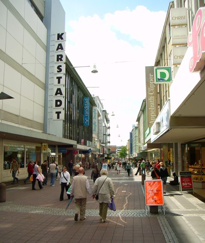 Kiel Einkaufsmeile