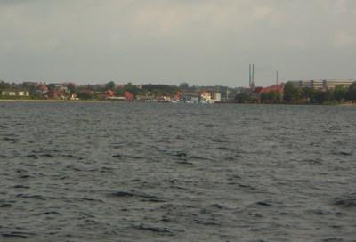 Sønderborg von der See aus