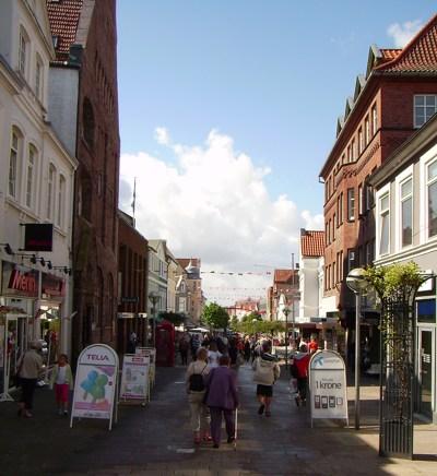 Einkaufsmeile Sønderborg