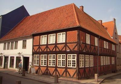 Czarens Hus in Nykobing auf Falster