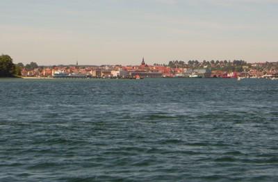 Svendborg in Sicht