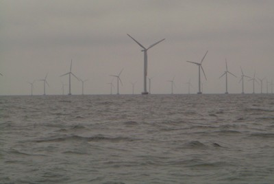 Windpark vor Nysted, Dänemark