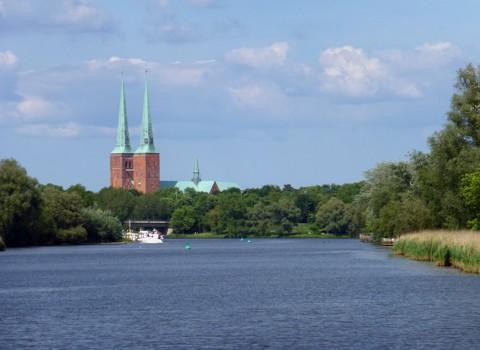 Lübeck in Sicht