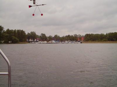 Ellbogensee Hafen Priepert