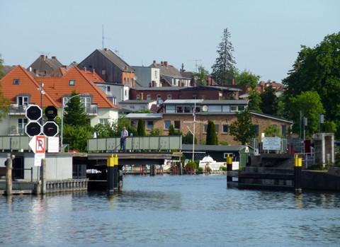 Straßendrehbrücke Malchow