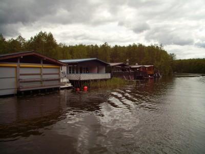 Ferienhäuser am Wasser bei Mirow