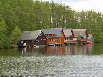 Bootshäuser / Ferienhäuser - Mirow