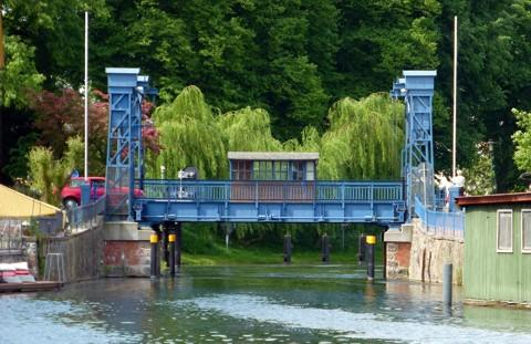 Plau - Hubbrücke