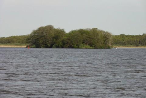 Kleine Müritz - Insel Burgwall