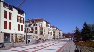neue Strandpromenade Swinemünde