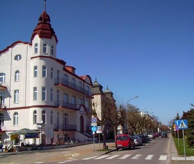 Strandpromenade Swinemünde
