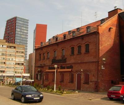Alter Speicher in Klaipeda