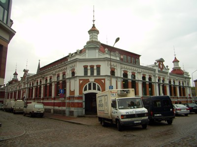 Petermarkt in Liepaja