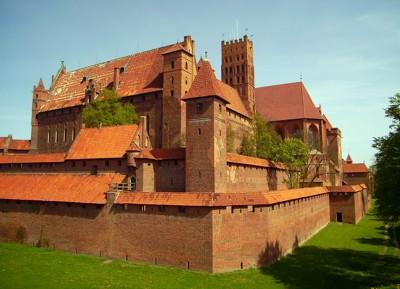 Hochschloß der Marienburg