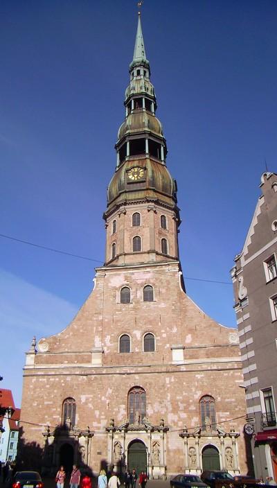 St.Petrikirche Riga