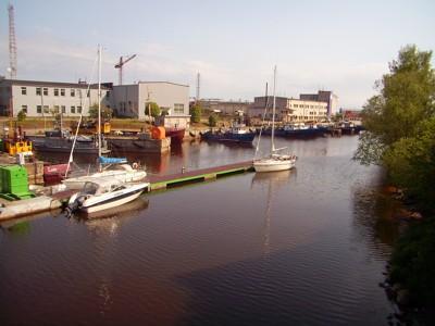 Roja - Hafen