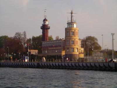 Hafeneinfahrt Danzig