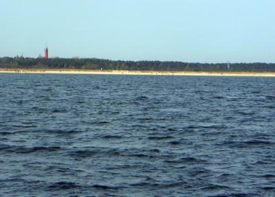 Küste und Leuchtturm Hel