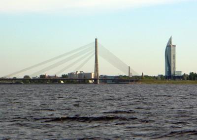 Daugava aufwärts