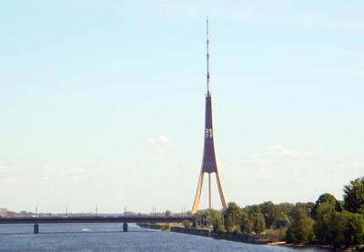 Fernsehturm Riga - Landmarke