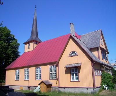 Kirche in Haapsalu