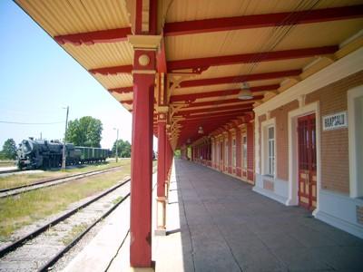 Bahnsteig Haapsalu