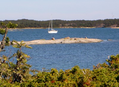 ankern in Åland