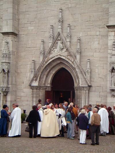 Eingang St. Marien Dom