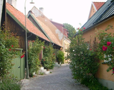 Visby - Altstadtgasse