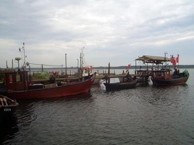 Fischereihafen am Zicker See