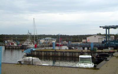 Thiessow - Hafen