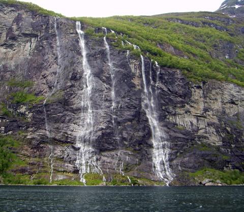 Sieben Schwestern - Geirangerfjord