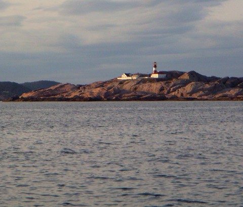 Leuchtturm - Südküste Norwegen