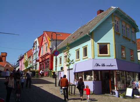 neuere Altstadt Stavanger